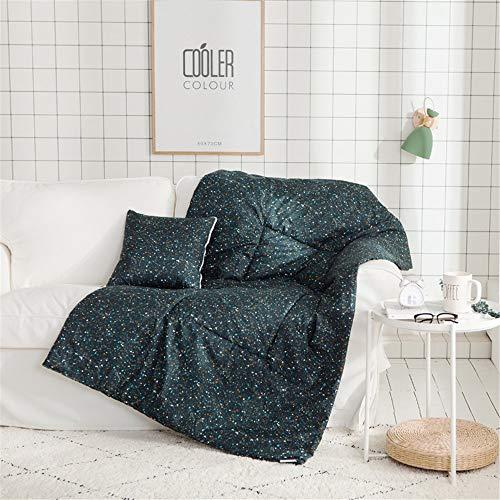 Edredón de almohada de doble propósito Uso de doble uso de cuatro temporadas acondicionamiento de aire acondicionado pequeño acolchado fresco acolchado acolchado para sofá y coche Almohadas de viaje