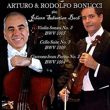 Arturo & Rodolfo Bonucci play Bach; 1986 - 2005 (Live)