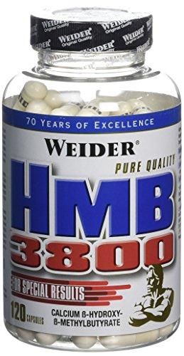 WEIDER HMB 3800 120 Gélules