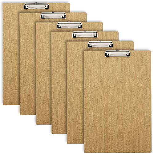 Office Clipboard with Low Profile Clip (19 x 12 in, 6 Pack)