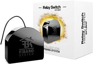 FIBARO FIBEFGS-222 FGS-222 Double Switch 230 V, zwart Single zwart