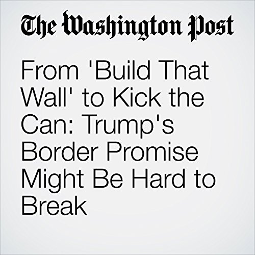 From 'Build That Wall' to Kick the Can: Trump's Border Promise Might Be Hard to Break copertina