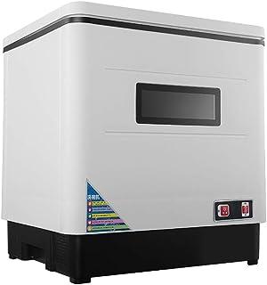 WWXY Lavavajillas Máquina lavaplatos Diseño Compacto desinfección por Calor,Acero Inoxidable, Modo Eco Cesto para cubertería [Clase energética A+]