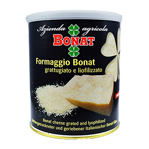 Parmigiano Reggiano Bonat grated and lyophilized, tin 10.5 oz. (300 g)