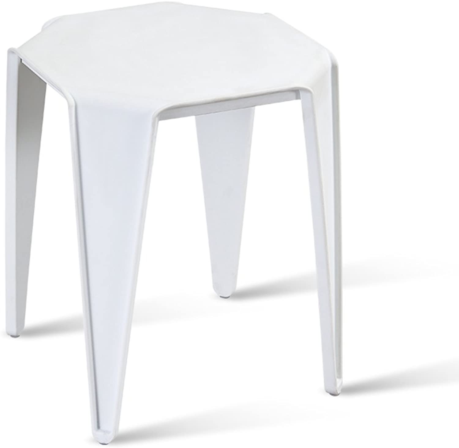 Modern Minimalist Stool, Multi-color Dining Stool Adult Creative Stool Plastic Stool Restaurant Small Bench (color   C)