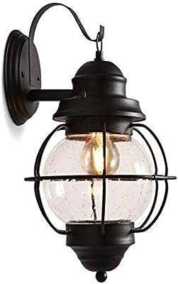 WXL Lámpara de Pared de Hierro Forjado Dormitorio Sala de Estar ...