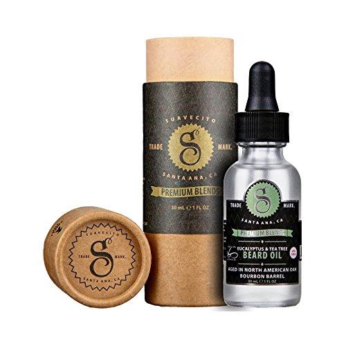 Suavecito Mélange d'Eucalyptus et huile de Tea Tree Beard
