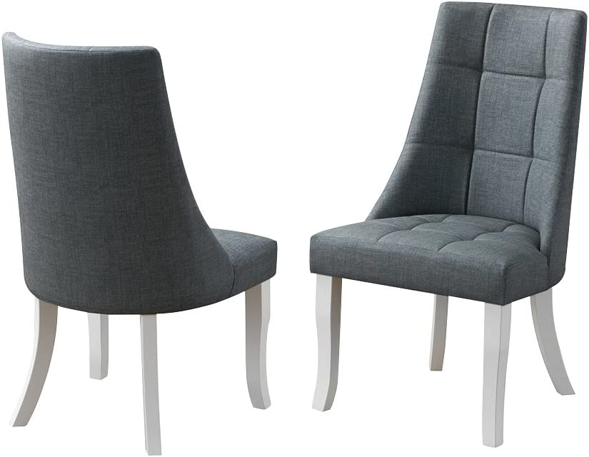 Kings Brand Milan Gray Vinyl R Kitchen Dining Special price for a Max 80% OFF limited time Dinette Upholstery