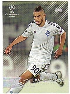 2015 Topps UEFA Champions League Showcase #174 Younes Belhanda FC Dynamo Kyiv