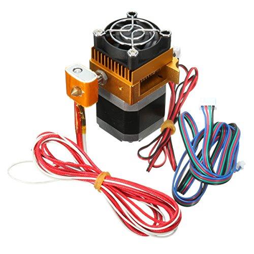 ILS MK8 extruder 0,4 mm volledig metalen nozzle print kop voor 3D-printer Prusa i3