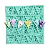Affe Brief Flagge Silikon Dekorieren Schokoladen-Kuchen-Form-Fondant-Backen Werkzeug Küchengerät