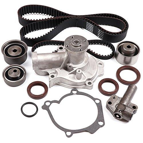 ECCPP Timing Belt W/Water Pump Kit Hydraulic Tensioner For Hyundai Kia 2.4L L4 G4JS