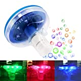 Jomilly Floating Pool Lights Waterproof Pool Floats Baby Bath Lights for Hot Tub