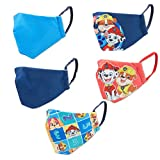 PAW PATROL 5PC Multipack of Washable Reusable FACE COVERINGS
