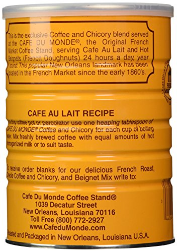 Cafe Du Monde Coffee with Chicory, 15-Ounce (Pack of 2)