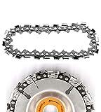 Disco de cadena, 4 pulgadas de 22 dientes de la amoladora de la cadena del disco para cortar la madera de trabajo de la talla de la placa de la cadena, accesorio de la cadena de la