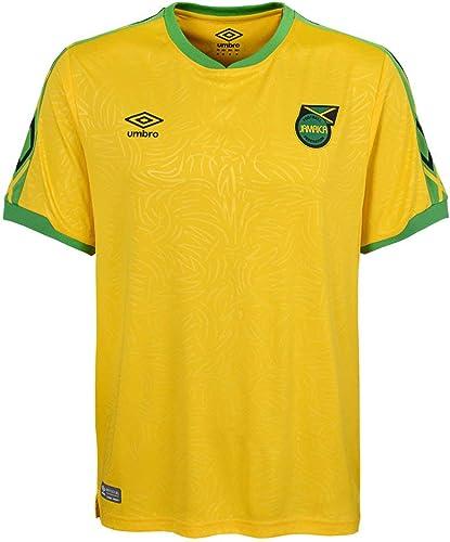 Umbro 2018-2019 Jamaica Home Football Soccer T-Shirt Maillot
