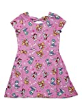 Nickelodeon Paw Patrol Toddler Girls All-Over Print Dress with Back Bow 4T Pink