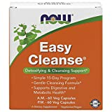 NOW Supplements, Easy Cleanse, AM/PM with unique blend of Specialized...
