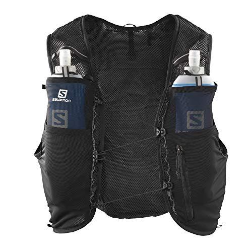 Salomon ADV Hydra Vest 4 Unisex Hydration Vest 4L 2x Soft Flasks Incl. Trail Running Hiking