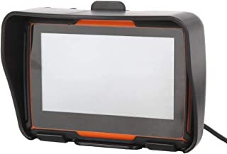 Nrpfell Navigatore Satellitare per Navigazione GPS per Moto da 4,3 Pollici Impermeabile