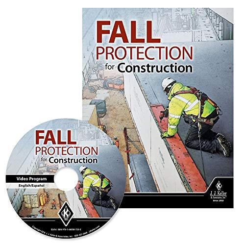 Fall Protection for Construction DVD Training Video in English & Spanish - J. J. Keller & Associates, Inc. - Understand OSHA Fall Protection Requirements (CFR 1926 Subpart M,