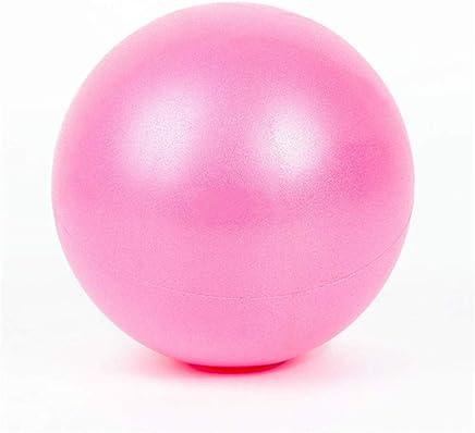 Equipo de la aptitud Mini pelota de ejercicio de 9 pulgadas, pelota pequeña para estabilidad, barra, pilates, yoga, entrenamiento básico y terapia física - mini pelota de ejercicio Entrenamiento depor