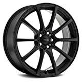 Focal 448SB F-20 Satin Black with Satin Clear-Coat Wheel with Painted Finish (18 x 8. inches /5 x 100 mm, 40 mm Offset)