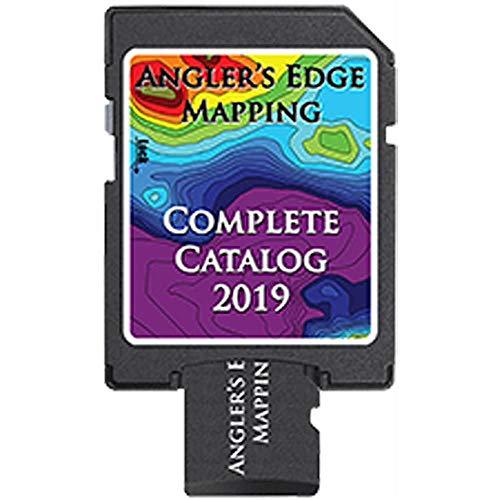 Sale!! Angler's Edge Mapping Complete Catalog 2019 Digital Lake Maps CATALOG-2019