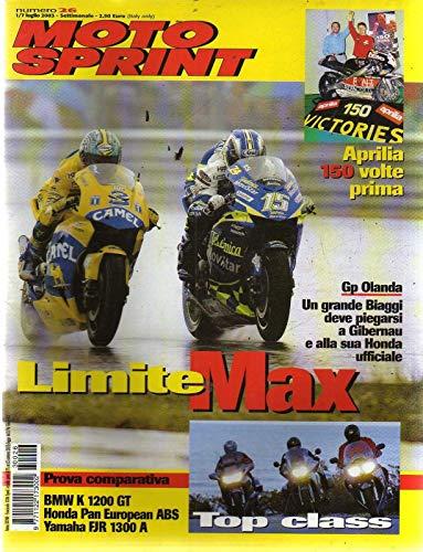 Motosprint 26 Luglio 2003 Bmw K 1200 GT, Yamaha FJR 1300 A