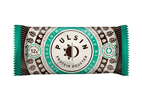 Pulsin Protein Snack 18x50g Bars Mint Choc Chip
