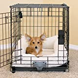 K&H Pet Products Deluxe Bolster Crate Pad X-Small Natural 14' X 22'