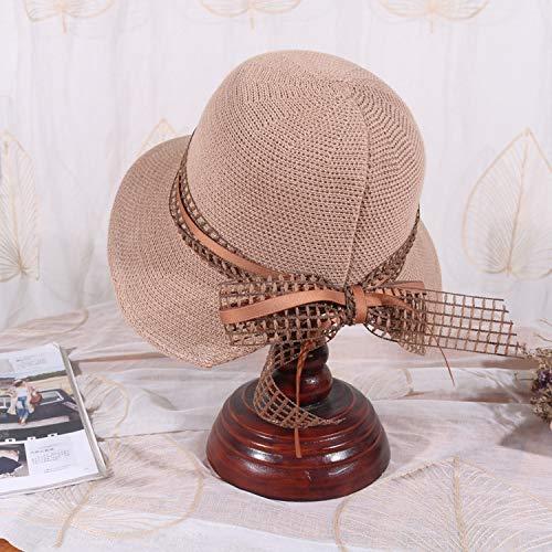 geiqianjiumai Nieuwe visser hoed vrouwelijke kunst wilde dame boog ademende trend cap