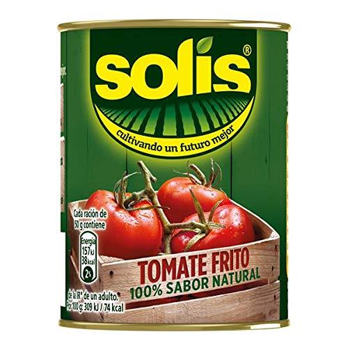 SOLIS Tomate Frito Lata - Tomate sin gluten - 140g