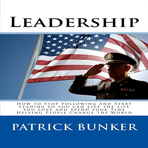Leadership audiobook cover art