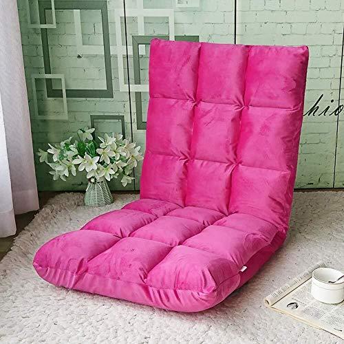 SWNN Gaming Chair Wee Silla Perezosa Silla Suelo sofá Plegable sofá Cama del Ministerio del Interior de la Siesta Dormitorio balcón del Dormitorio de los Juegos de Ordenador Recreación Silla de salón