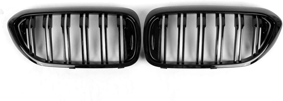 PPCP Bumper Kidney Grille a Pair barbe Front NEW before Award-winning store selling ☆ of Black Gloss car
