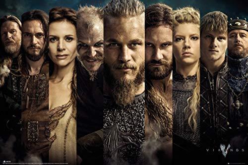 GB Eye, Vikings, Grid, Maxi Poster, 61x91.5cm