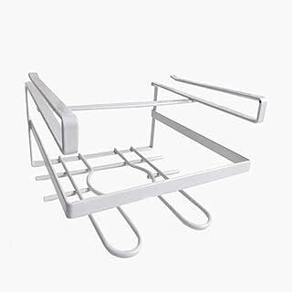SPNEC Blanc Pot Stand, sous Planche à découper Cabinet Serviettes Support de Rangement Multifonctions de Cuisine Organisateur