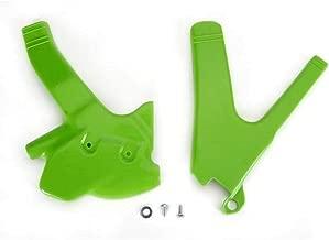 UFO Plastics Frame Guards Green for Kawasaki KDX 200 95-01