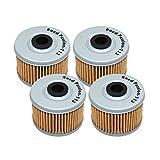 Road Passion Filtro de aceite para HONDA XL125 V VARADERO 125 2001-2010 XL125V VARADERO DE LUXE 125 2011(4)