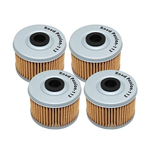 Road Passion Filtro de aceite para HONDA VT125 C SHADOW 121 2005-2008 VT125C SHADOW 125 1999-2004(4)
