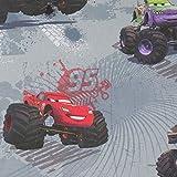 Hans-Textil-Shop Stoff Meterware Cars Monster Truck