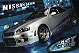 Close Up The Fast and The Furious 2 Poster Nissan Skyline