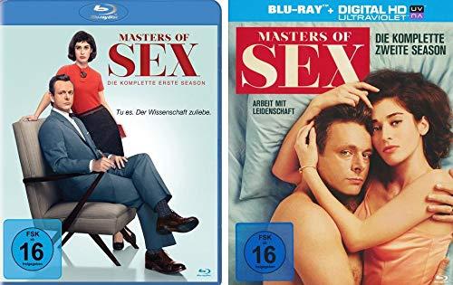 Masters of Sex - Season/Staffel 1+2 im Set - Deutsche Originalware [8 Blu-rays]