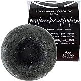 Photo Gallery senso naturale shampoo solido detox purificante ecologico e vegano - antiforfora capelli grassi - purifica senza seccare le lunghezze - 100% naturale e senza plastica - ph 4.5-5.0