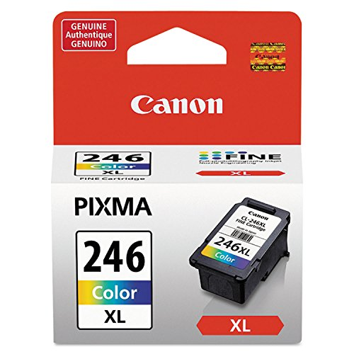 Price comparison product image Canon 8280B001 (CL-246XL) High-Yield Ink Cartridge,  Tri-Color in Retail Packaging