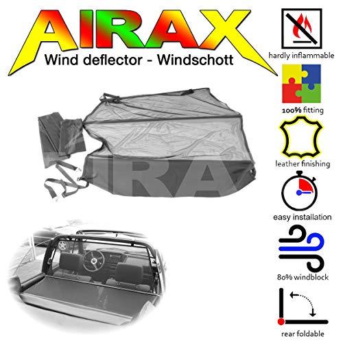 Airax Windschott für Golf I Cabrio Windabweiser Windscherm Windstop Wind deflector déflecteur de vent