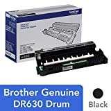 Brother Genuine Drum Unit, DR630, Seamless Integration, Yields Up to 12,000 Pages, Black (Renewed)