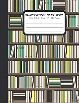 READING COMPOSITION NOTEBOOK  primary composition notebook composition notebook for kids composition notebook wide ruled lined paper journal .. 120 p format cover 8.5x11 in 120 lined pages